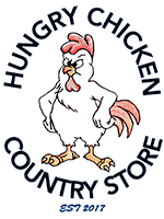 Hungry Chicken Country Store Logo.