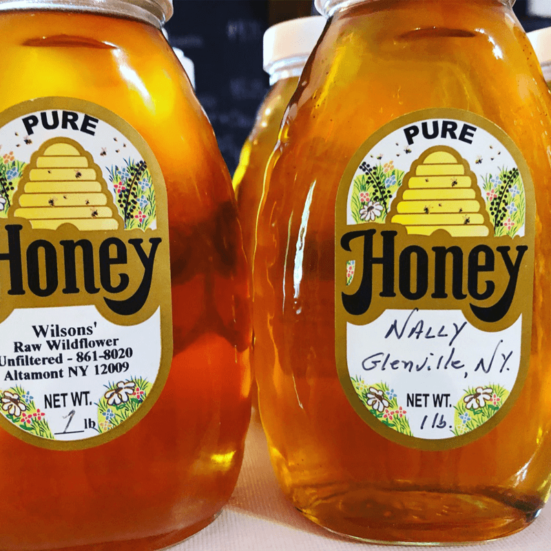 The Hungry Chicken Country Store Local Pure Honey.
